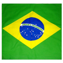 Lenço Bandana Bandeira Do Brasil