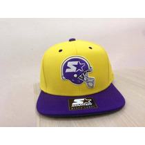 Boné Starter Snapback Helmet Amarelo