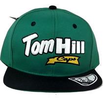 Boné Aba Reta Tom Hill Caps Bordado Snapback