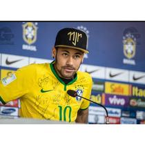 Boné Neymar Snapback Aba Reta Ediçao Limitada Importado