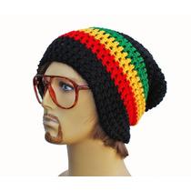 Gorro Touca Reggae Jamaica De Croche Beanie - Art Croche