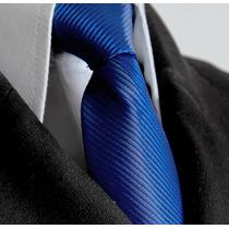 Gravata Semi Slim Azul Royal