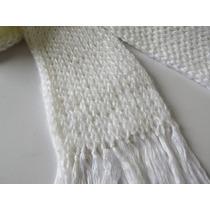 Cachecol De Lã Feito À Mão - Masculino E Feminino