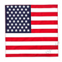 Lenço Bandana Bandeira Americana Usa - 55x55cm - Estilosa