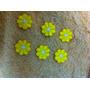 Apliques Bordados P/roupas (mini Flores Amarelas)