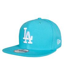 Boné La Dodgers Azul Bebe Original Fit Snapback Aba Reta