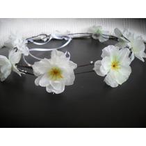 Guirlanda, Coroa De Flores, Headband P Noiva, Ensaio Fotogra