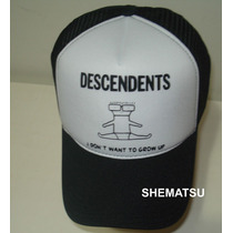 Bone Trucker Cap Tela Americano Descendents