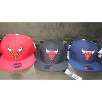 Boné Aba Reta Chicago Bulls - Nba