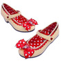 Sapato Minnie Mouse Vermelha Disney Fantasia Mine 27 28