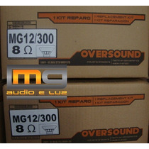 Reparo Alto-falante Oversound 12 Mg-300 8 Ohms