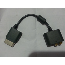 Cabo Adaptador De Áudio Optico Digital Ou Rca Xbox 360