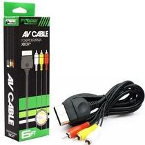 Cabo Av Audio E Video Xbox 1 Primeira Geração - Novo Lacrado