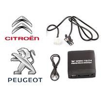 Adaptador Interface Usb Sd Bt Citroen Peugeot 307 C4 Pallas