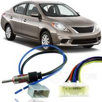 Kit De Chicote Adaptador Plug Para Nissan Versa