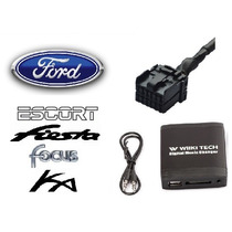 Adaptador Interface Usb Sd Ford Escort Fiesta Focus Ka