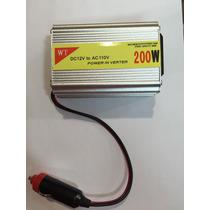 Inversor Transformador Tensão Veicular 200w 12v 110v Usb