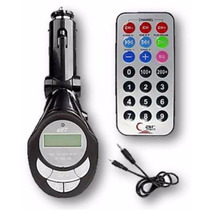 Transmissor Fm Veicular Mp3 Usb Lê Pendrive Sd, Mini Sd