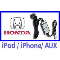Adaptador Ipod E Iphone Honda Civic Fit Crv Accord