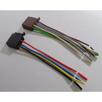 Chicote Conector Iso 16 Vias Fêmea Universal Plug