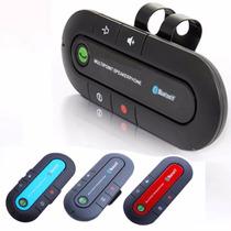 Bluetooth Car Kit Handsfree. Fone De Ouvido Para Telefones