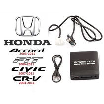 Adaptador Interface Usb Sd Honda New Civic Crv Fit Accord
