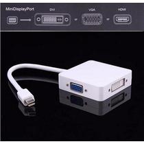 3 Em 1 Raio Dp Displayport Para Hdmi Dvi Vga Para Apple Mac