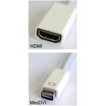 Cabo Adaptador Mini Dvi Hdmi Apple Imac Macbook Powerbook G4