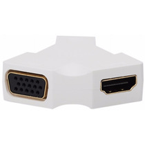 Mini Display Port 1.2 Hdmi + Vga Conversor Mac Book Air Pro