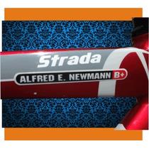 10 Stickers Com Nome E Tipo Sanguíneo Refletivo - Ciclismo