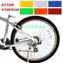 Adesivos Refletivos Para Bike E Motos - Kit Com 6 Cartelas