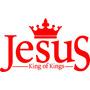 Adesivo Decorativo Jesus,cristão,evangelico,rei Dos Reis.