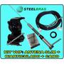 Kit Completo Vhf Steelbras Antena 5/8 Slim Bold 12x Sem Juro