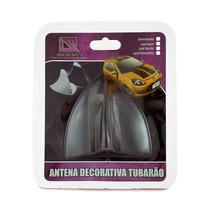 Antena Decorativa Preta Tubarão - Shekparts 01.018