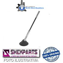 _antena Tuning Haste Alum Prata/preto Lisa 178mm Shekparts