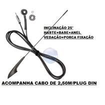 Antena Fiat+ Cabo 2,5 M- Pálio,brava,marea,siena,strada,uno