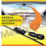 Antena Interna Amplificada Automotiva Tv/rádio Para-brisa