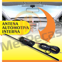 Antena Interna Amplificada Automotiva Tv/rádio Para-brisa