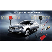 Antena Amplificada Tv Digital Automotivo C/booster 20db