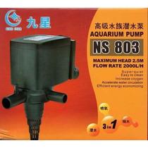 Bomba Submersa 2000 L/h Minjiang Ns-803 (110v) 2,5m