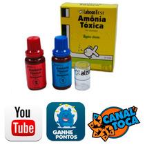 Teste Amonia Toxica Labcon P/ Aquarios De Agua Doce
