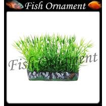 Enfeite Soma Planta Tapete Grama 6cm Fish Ornament