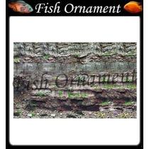 Painel Fundo De Aquario Boyu J65 50cm Fish Ornament