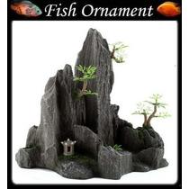 Enfeite De Resina Soma Rocha Duo Hill 09 Fish Ornament