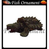 Soma 040341 Enfeite Resina Tartaruga Mordedora Fish Ornament