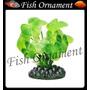Enfeite Soma Planta Cardamine Folha Larga 8cm Fish Ornament