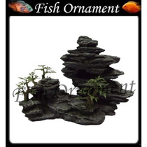 Enfeite De Resina Soma Rocha Duo Hill 13 Fish Ornament