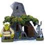 Enfeite Para Aquário Casa Do Shrek + Burro - Novidade!!!
