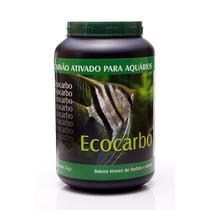 Carvao Ativado P/ Agua Doce Ecocarbo 500g Verde Mar