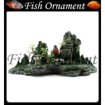 Enfeite De Resina Soma Montanha Com Arvores Fish Ornament
